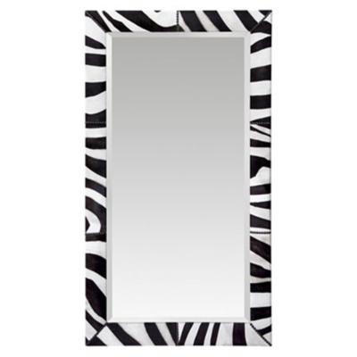 Isaac Cowhide Mirror