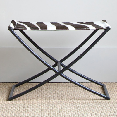 Hadley Small Bench - Zebra 3