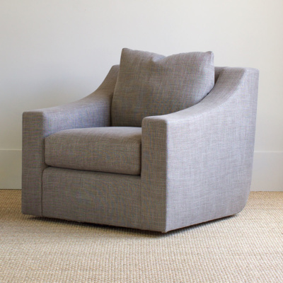 Clarence Swivel Club Chair 8