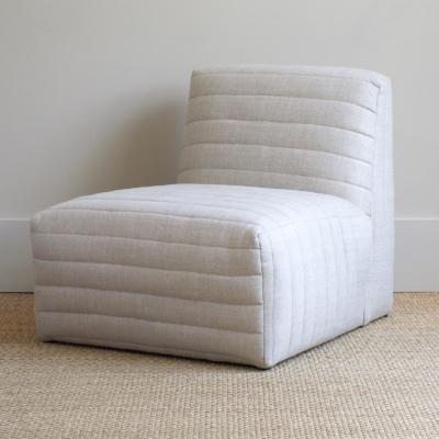 Brooks Armless Chair 6
