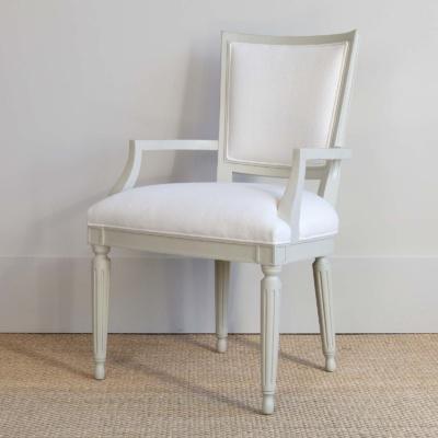 Velour Arm Chair 6
