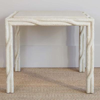 Faux Bois Side Table 4