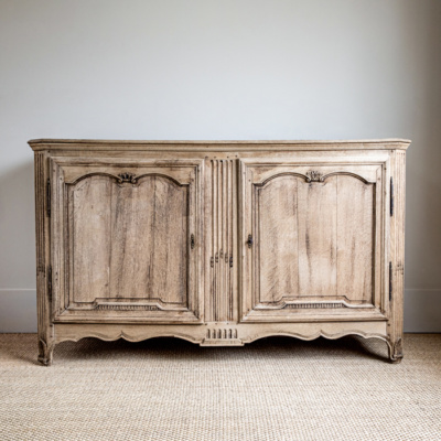 Bleached Oak Buffet 4