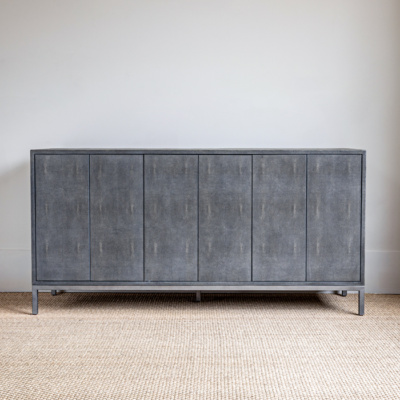 Francois Shagreen Charcoal Console 5