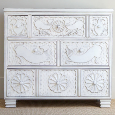 Keene Carved Chest