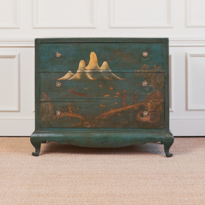 Antique Chinoiserie Commode 6