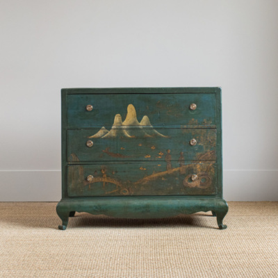 Antique Chinoiserie Commode 8
