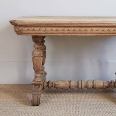 Antique Scallop Table 7