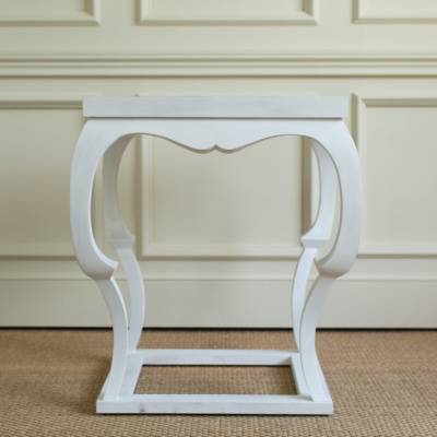 Bardo Side Table White