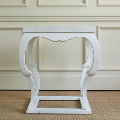Bardo Side Table White