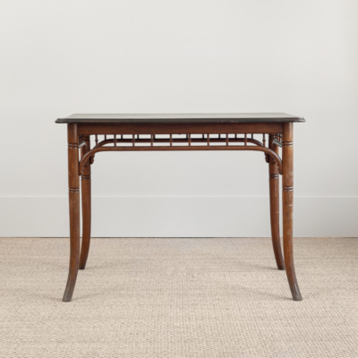 Brown Bamboo Table