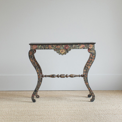 Decoupage Side Table (Pair)