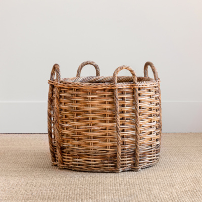 French Fireplace Basket