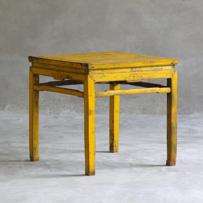 ANTIQUE SQUARE TABLE 8
