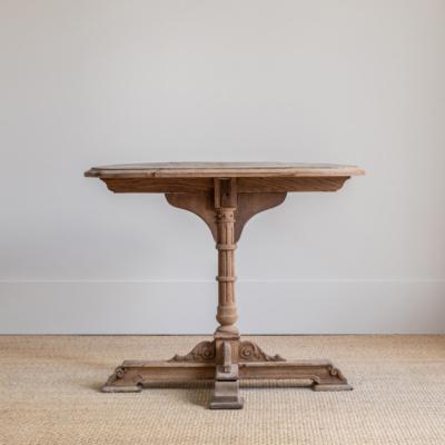 Oak 39 Antique Side Table