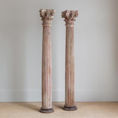 Oak Columns (Pair)