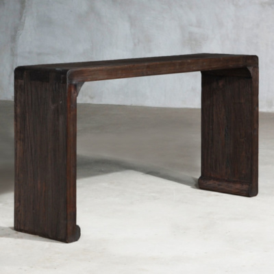 RECLAIMED ELM CONSOLE 29