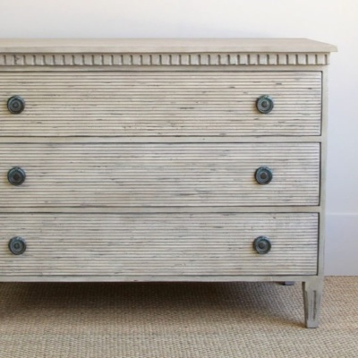 Reeded Straw Chest 4