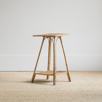 Small Rattan Side Table