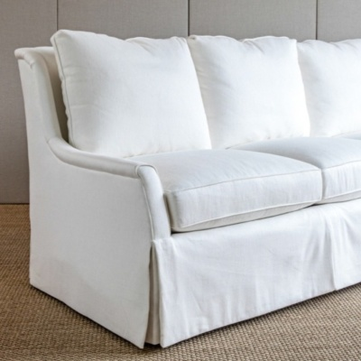 Walker Skirted Sofa 3